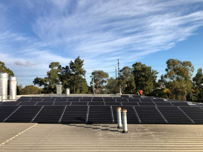 Commercial Solar System Projects in Sydney