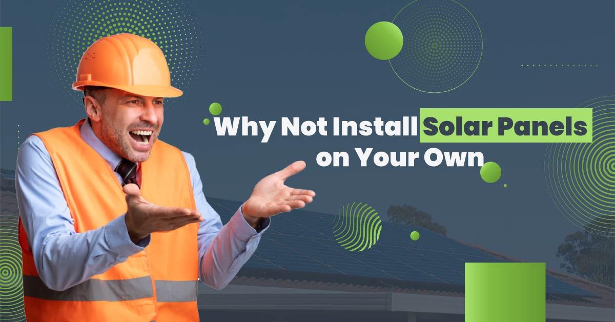 Installing solar panels in Sydney